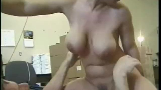 naked female with a doctor